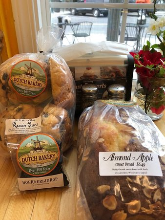 Lynden Dutch Bakery: treats for home on our table