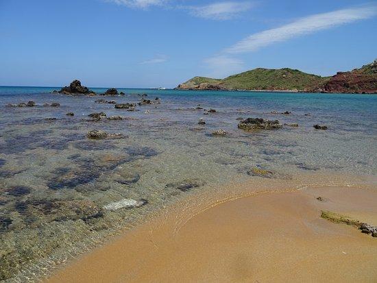 Playa de Cavalleria: playa