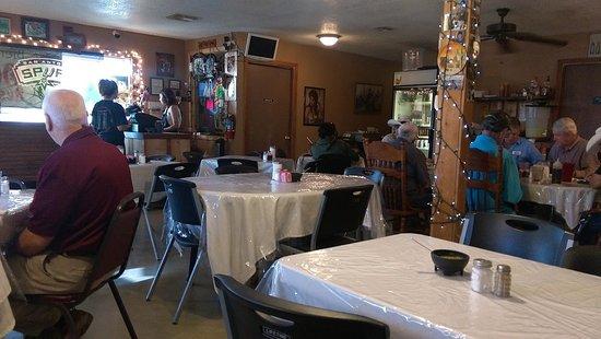 Hondo, تكساس: Cash register area