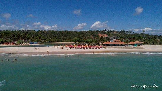 Jequia da Praia, AL: Dunas de Marapé - Jequiá da Praia - Alagoas - Brasil. O encontro da lagoa com o mar. Pura paz!