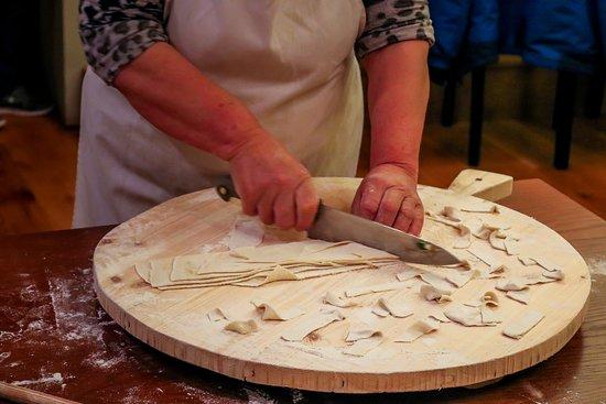 Eptalofos, กรีซ: Hand made pasta