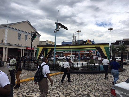 Sam Sharpe Square: down town