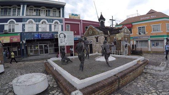 Sam Sharpe Square: Statues in the Square