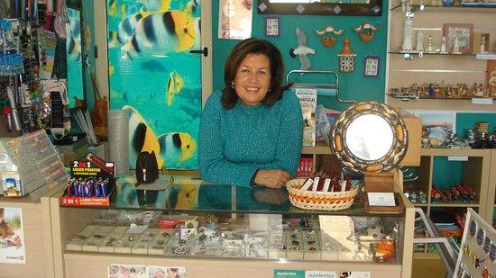 Cabanas, Portugal: O prazer de trabalhar na loja!