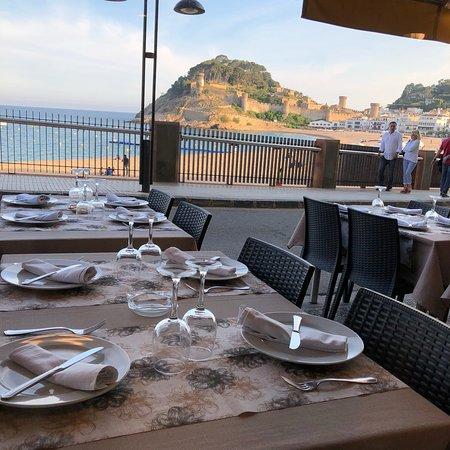 Restaurant Minerva: langostas de tossa