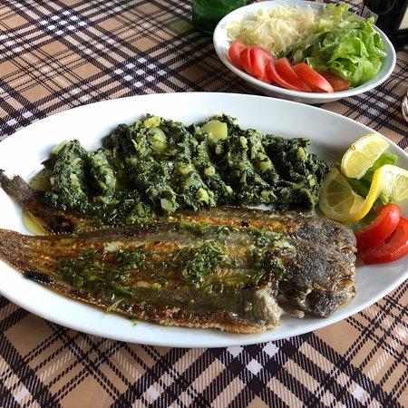 Krnica, Hırvatistan: Der Fisch (Seezunge) war sehr lecker.
