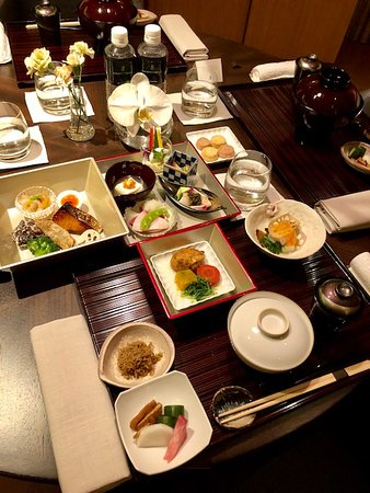 The Ritz-Carlton, Kyoto : Room service presentation
