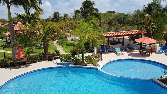 Sugar Cane Club Hotel & Spa: View from the restaurant
