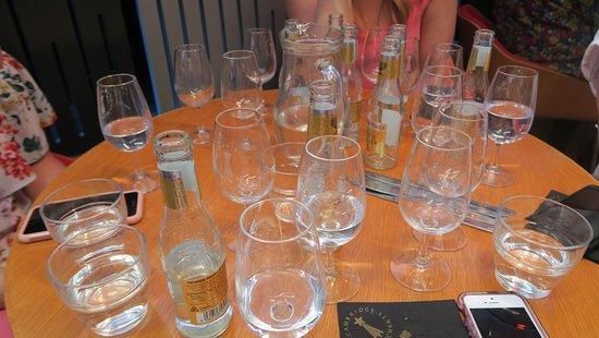 Cambridge Food Tour: Gin tasting