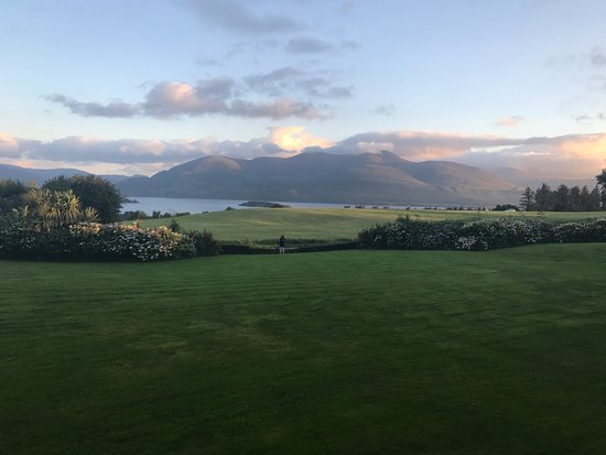Aghadoe, Irland: View from our 1st floor room