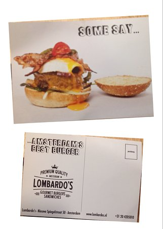 Lombardo's: 餐廳的明信片