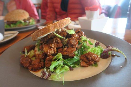 Hindeloopen, เนเธอร์แลนด์: 雞肉三明治味道不錯