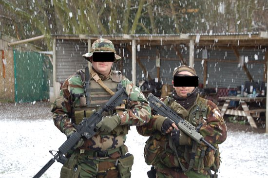 open no matter the weather - Picture of Dragons Lair Airsoft