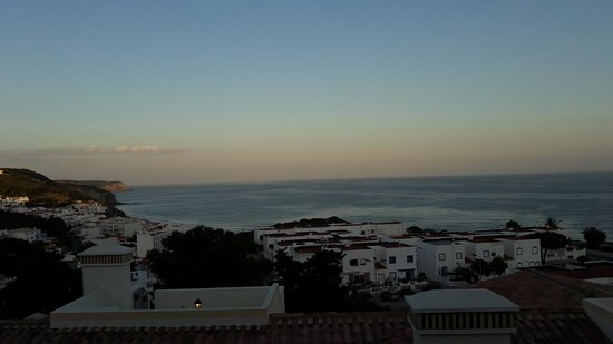 Sunset view of Salema from Villa12