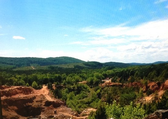 Jessieville, AR: Mindfulness, enjoy the scenery and the moment