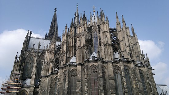 Kölner Dom: The Exterior of the Cologne Cathedral
