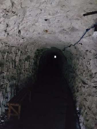 Ramsgate Tunnels : Inside the tunnels.