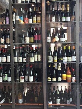 Sentralen Restaurant: Et utvalg av flaskefor