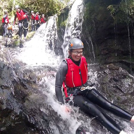 Fun on a Sunny day Canyoning with Adrenalin Addicts