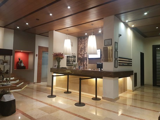 Hotel Catedral: Reception