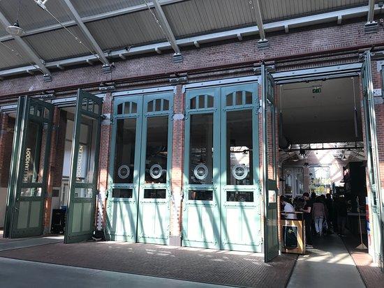 De Hallen Amsterdam: Entrada