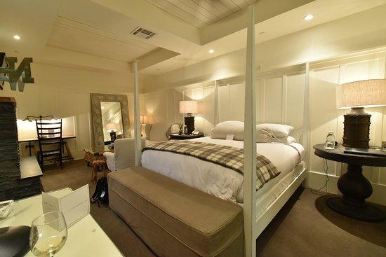 Forestville, Kaliforniya: Farmhouse Inn King Deluxe Room