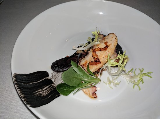 Forestville, CA: Dinner at Farmhouse Inn - Grilled Octopus