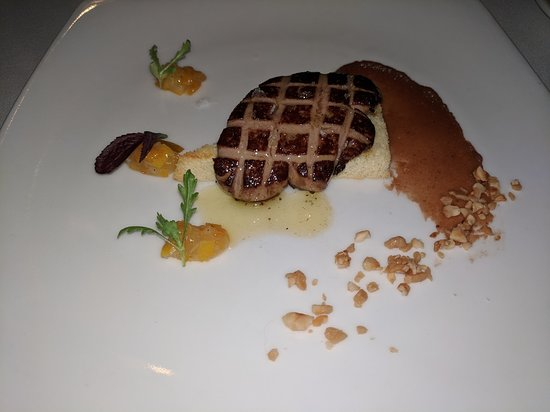 Forestville, CA: Dinner at Farmhouse Inn - Hudson Valley Foie Gras