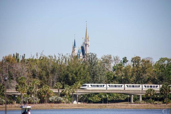Disney's Grand Floridian Resort & Spa: View of Magic Kingdom