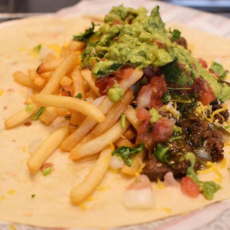 Chronic Tacos: California Burrito - French Fries and Guac!