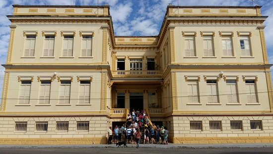 Bom Despacho, MG: Quartel da Policia Militar, devido aos prédios antigos, que um dia pertenceram a rede Ferroviári