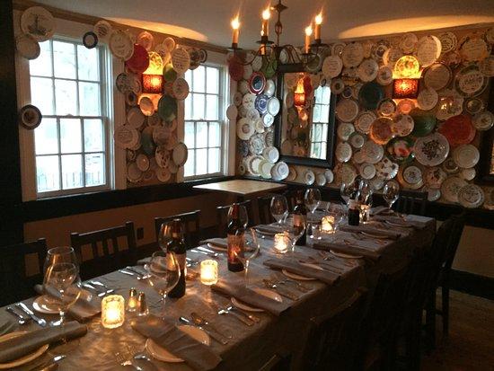 Mistralino Ristorante: Getting ready for a private dinner