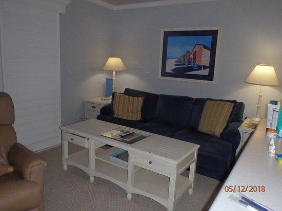 Ocean's Reach Condominiums: Sitting area of living room