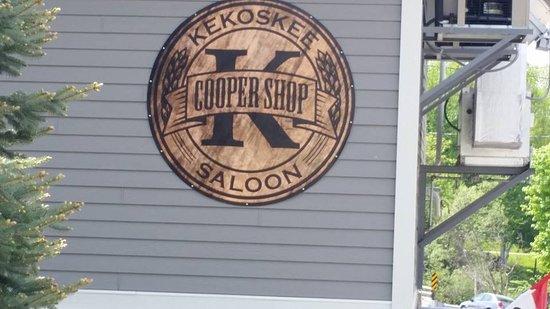 Mayville, WI: Kekoskee Cooper Shop Saloon