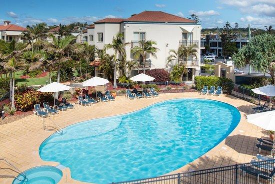 Tugun, Австралия: heated pool and spa