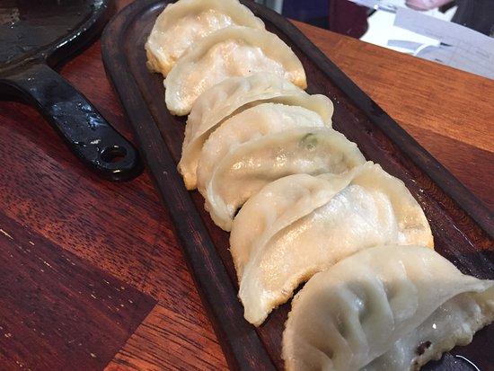 Chatswood, Australia: Pan Fried Pork Dumplings