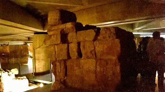Museo del Foro de Caesaraugusta: Ruinas del Foro.