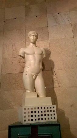 Museo del Foro de Caesaraugusta: Escultura romana.