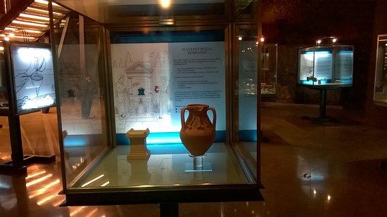 Museo del Foro de Caesaraugusta: Vasija romana.
