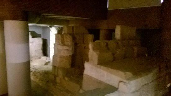 Museo del Puerto Romano: Muelle del Puerto romano.