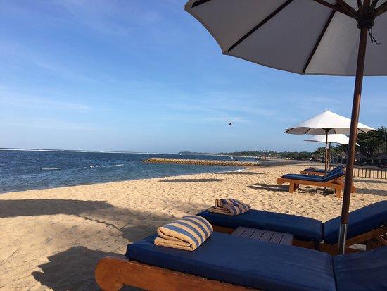 Conrad Bali: Private beach