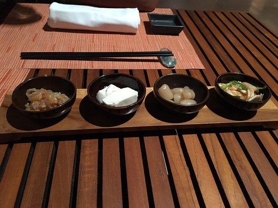 Conrad Bali: Dinner at RIN restaurant