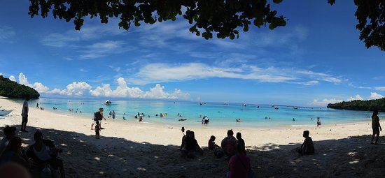 Samal Island, Philippines: 180-degree view