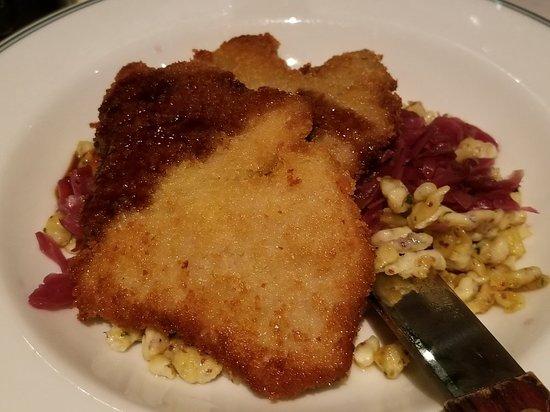 Sherwood Inn: Viener schnitzel