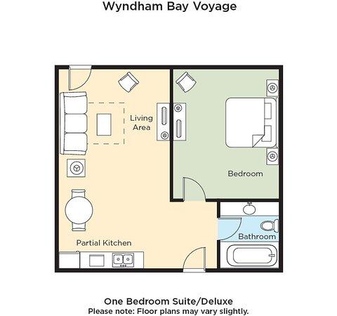 Wyndham Bay Voyage Inn: Guest room
