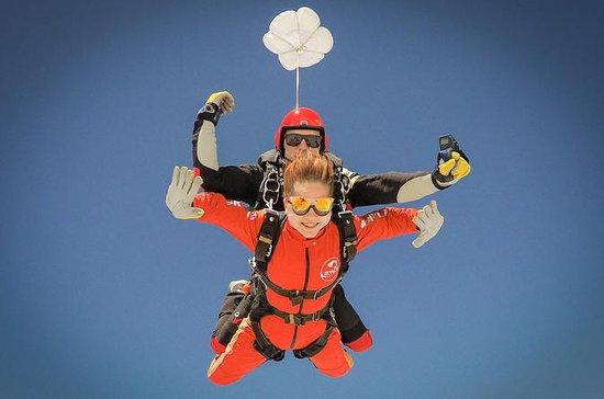 Tandem paracaidismo en el Algarve