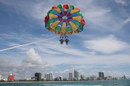 South Beach Parasail Great Views