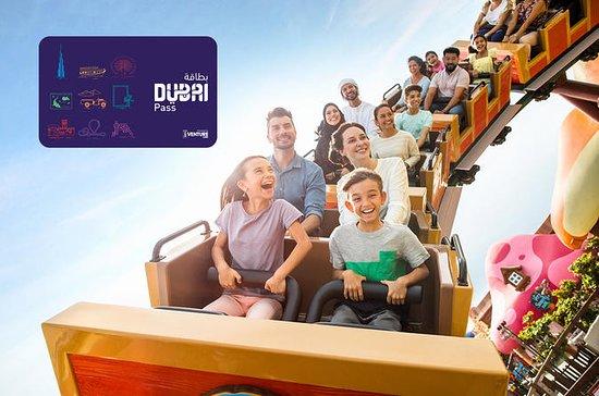 Dubai Flexi Attractions Pass including Motiongate