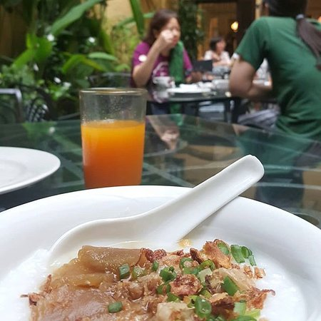 Hotel Puri: Rice porridge for breakfast