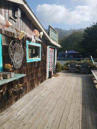 Jenner, CA: Cafe Aquatica